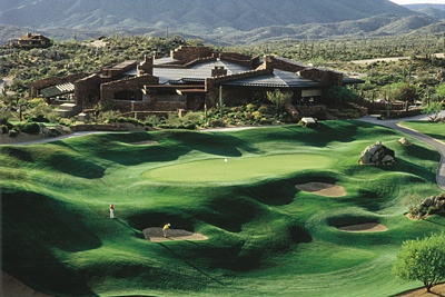 Clubhouse at Desert Mountain